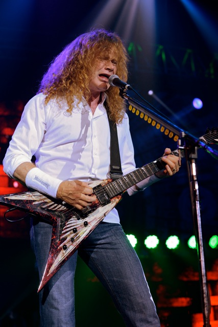 Megadeth Live Photos From Gigantour In Camden New Jersey By Kevin Hodapp
