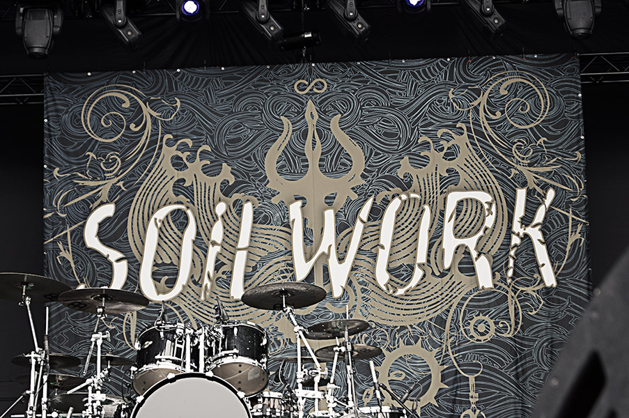 Soilwork Live Photos From Tuska 2013 by Sam Roon