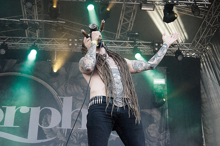 Amorphis Live Photos - Tuska 2013 by Sam Roon