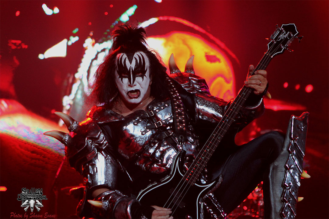KISS - Gene Simmons 2014 By SkullsNBones