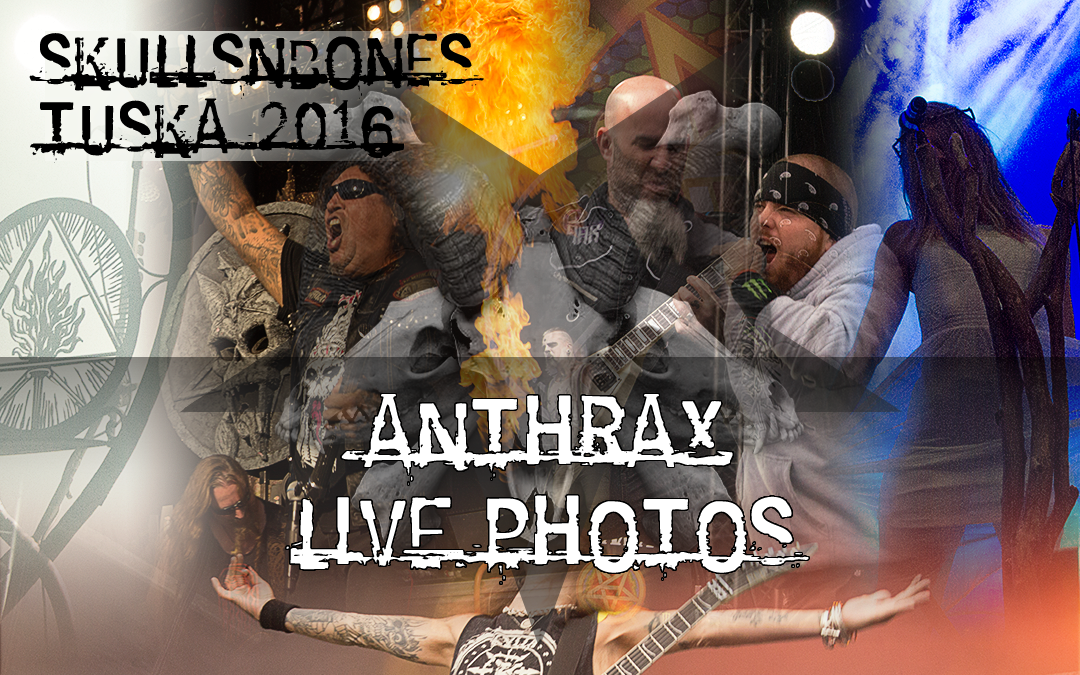 Anthrax Live Photos From Tuska 2016