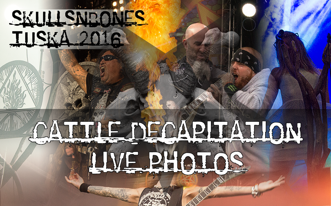 Cattle Decapitation Live Photos From Tuska 2016