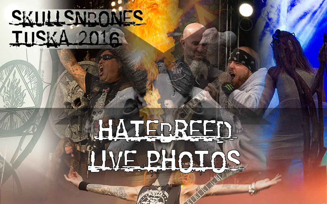 Hatebreed Live Photos From Tuska 2016