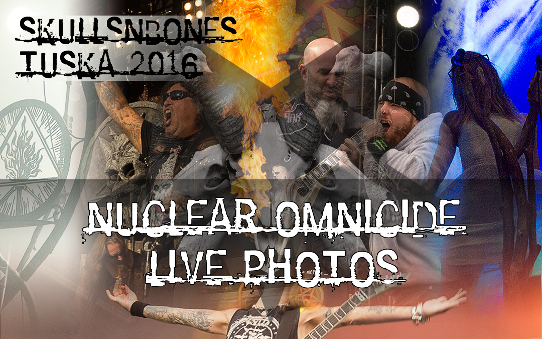 Nuclear Omnicide Live Photos From Tuska 2016