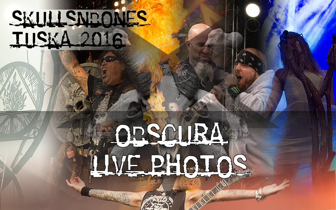 Obscura Live Photos From Tuska 2016