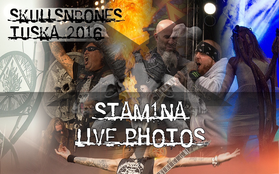 Stam1na Live Photos From Tuska 2016!