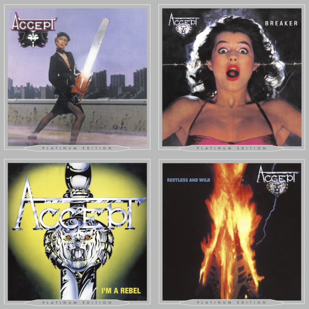 Accept Album Covers