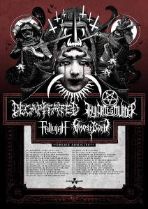 "Decapitated ""Double Homicide"" US Tour With Thy Art Is Murder, Fallujah and Ghost Bath - Tickets On Sale Now"