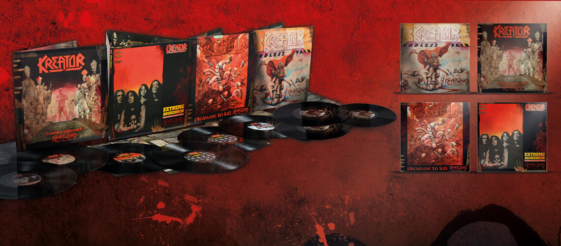 Kreator To Re-Release First Four Albums On June 9