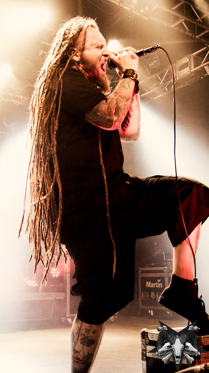Decapitated, Crushing The North, Nosturi, Helsinki Finland