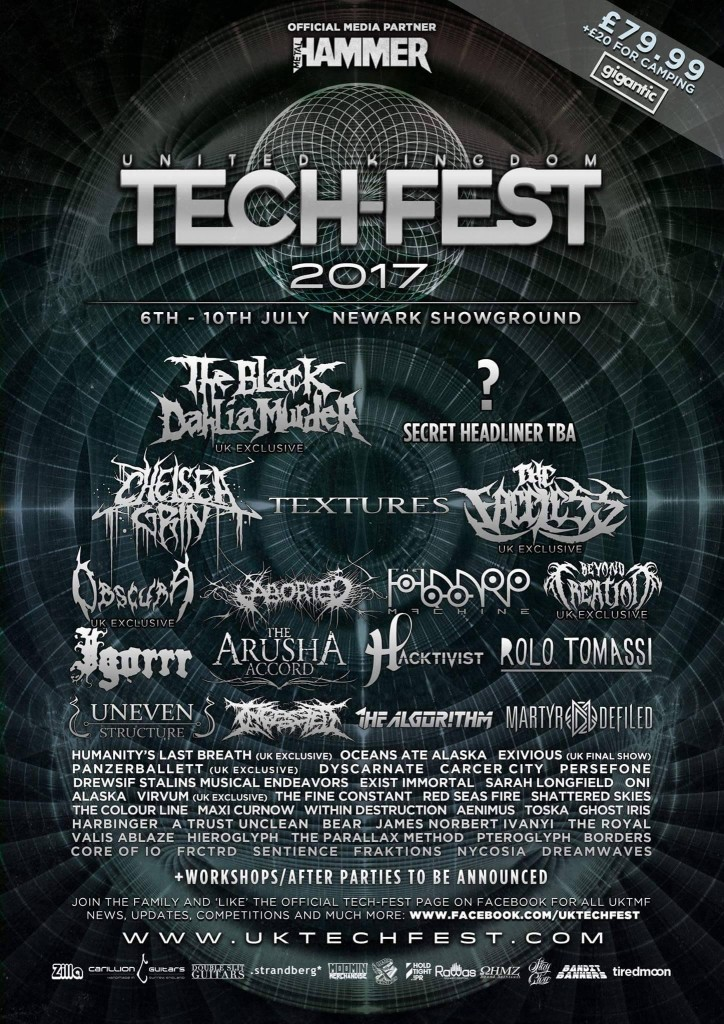 UK Tech Fest 2017 Line Up