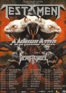 Testament EU Tour 2017