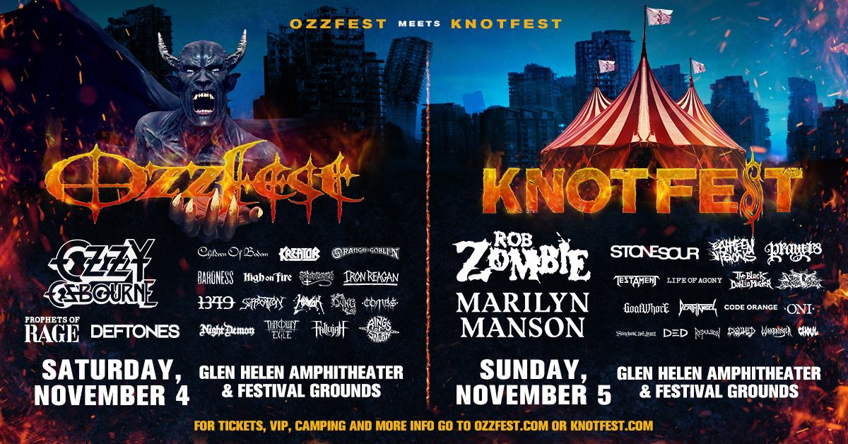 Tombs at Ozzfest