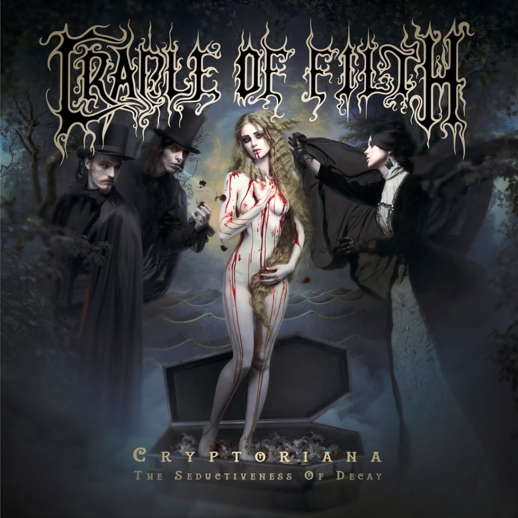 Cradle of Filth - Cryptoriana Cover