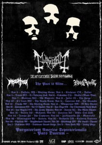 Mayhem - Immolation - Tour