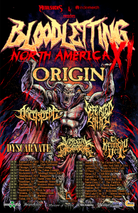 Origin - Bloodletting Tour - 2017