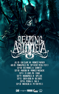 Reaping Asmodeia - Tour