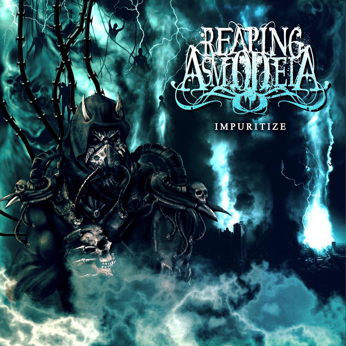 Reaping Asmodeia - Cover