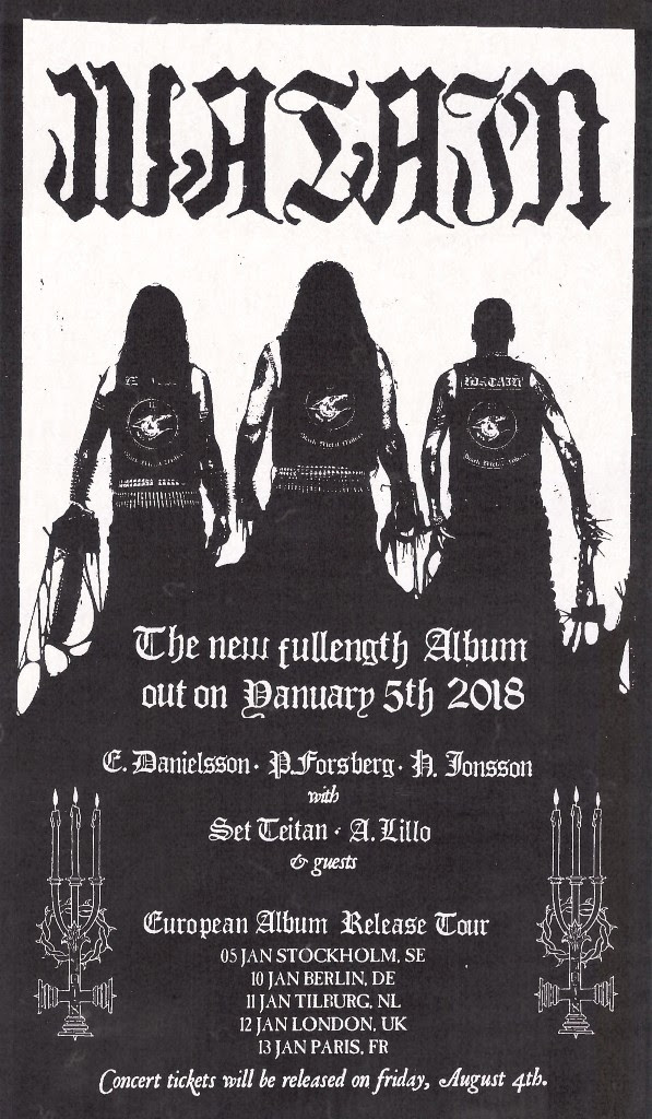 Watain - European Tour