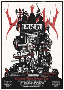 Watain - European Tour 2