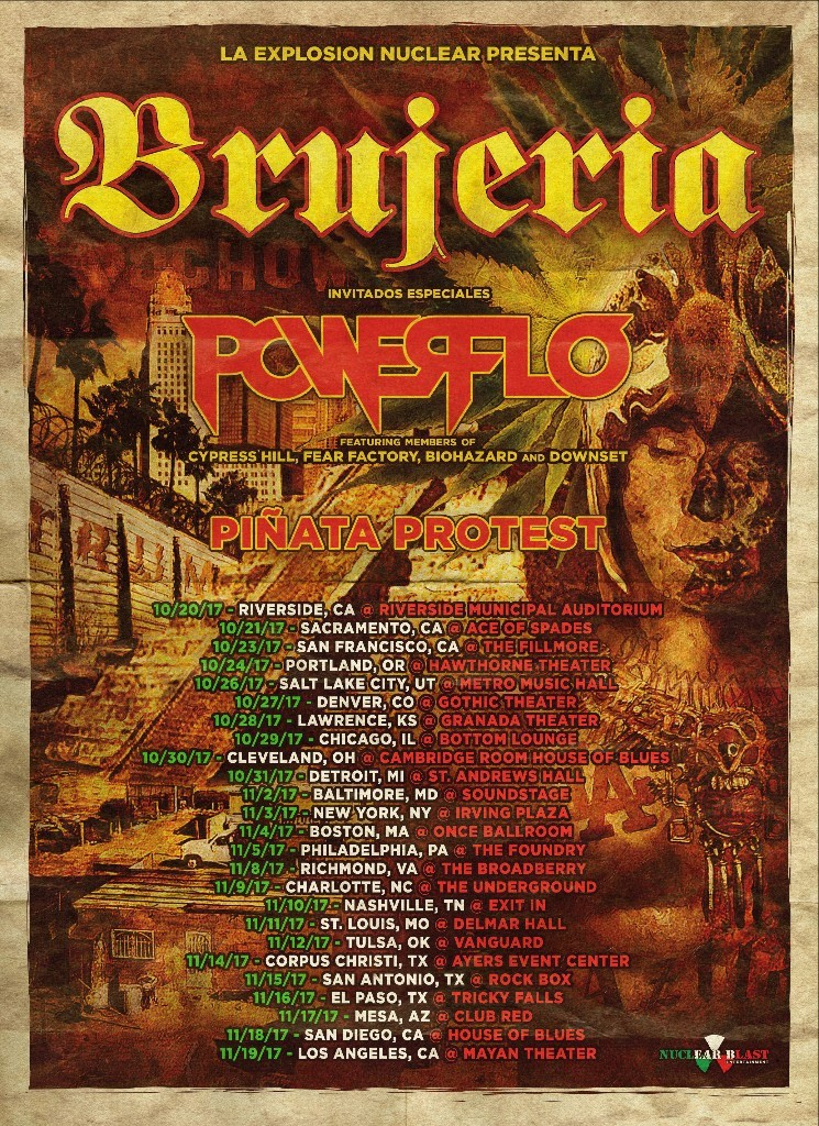 Brujeria - Fall Tour - 2017