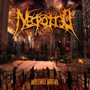 Necrotted - Worldwide Warfare - Cover