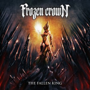 Frozen Crown - The Fallen King - Cover