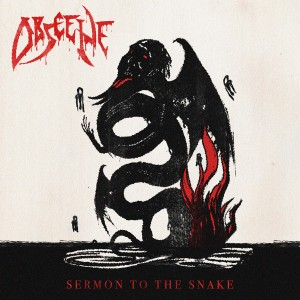 Obscene - Sermon of the Snake - Cover