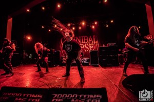 Cannibal Corpse - 70,000 Tons of Metal - By Jason Carlson