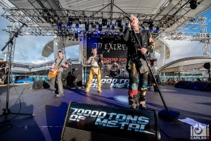 In Extremo - Pool Deck Stage For 70,000 Tons of Metal 2018 By Jason Carlson