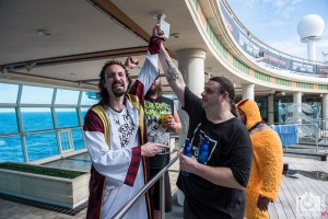 70,000 Tons of Metal Cruise - Jesus and Corpsegrinder By Jason Carlson