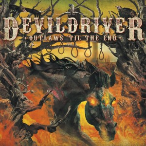 Devildriver - Outlaws til the End - Cover