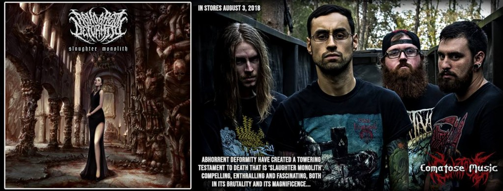 Aborhhent Deformity - Slaughter Monolith - Advertisement