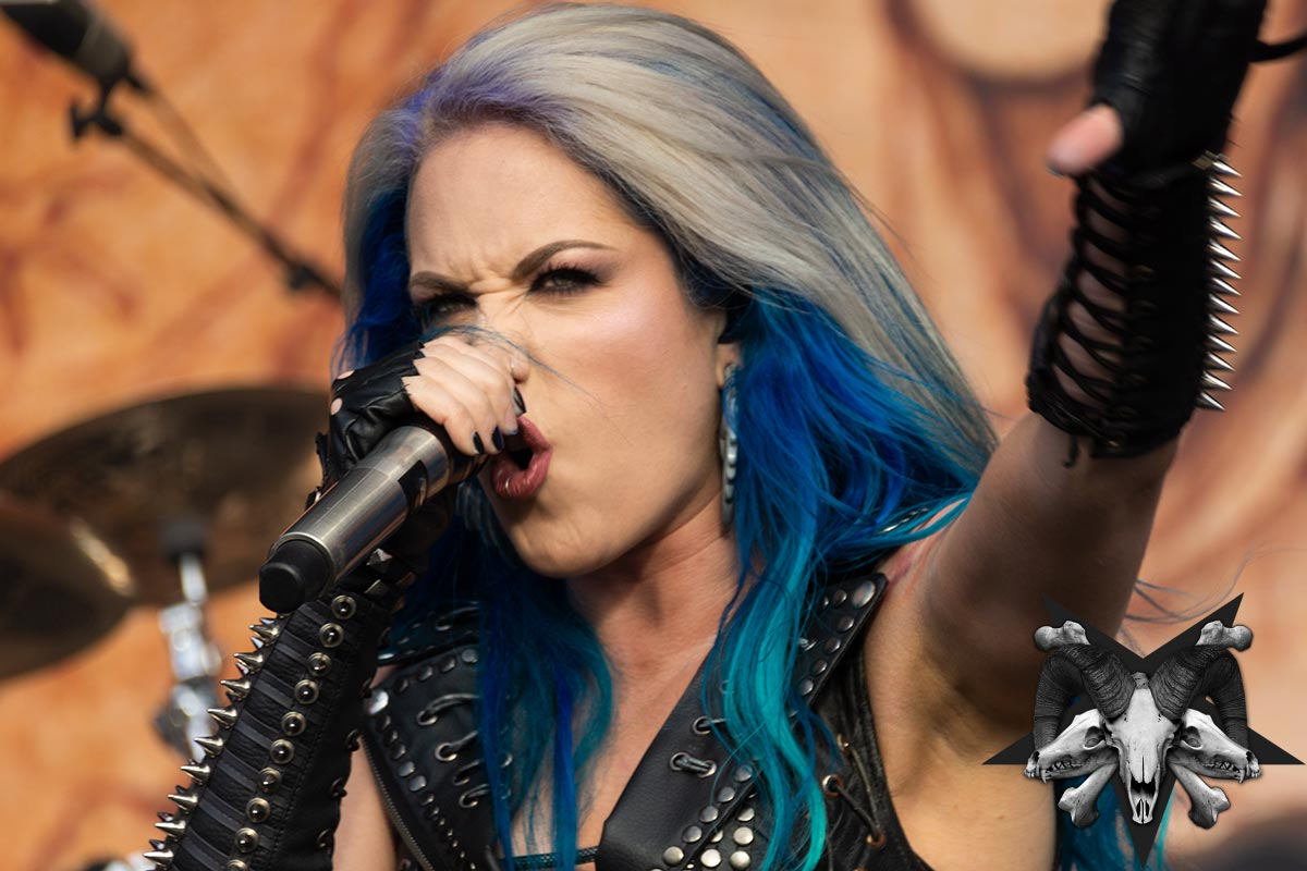Arch Enemy Live Photos From Tuska 2018 By Sam Roon