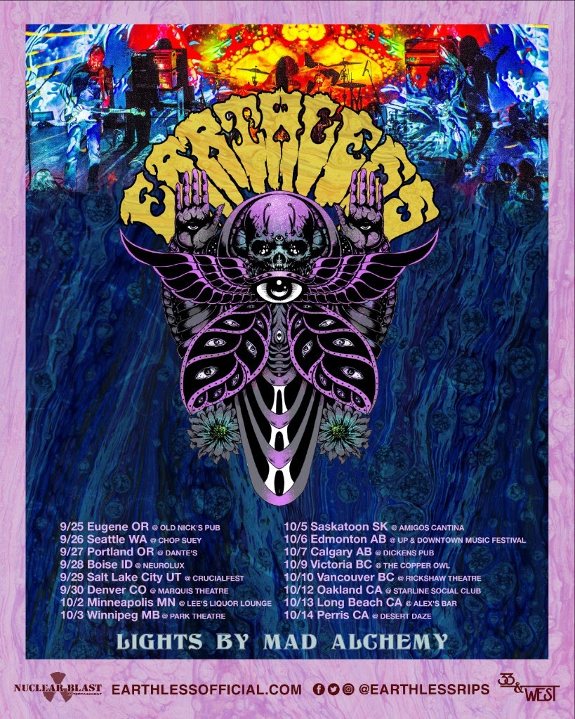 Earthless - US Tour Poster