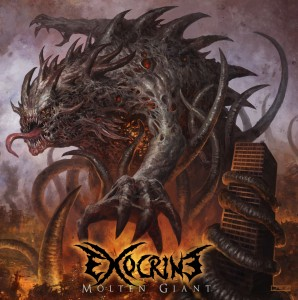 Exocrine - Molten Giant - Album Cover