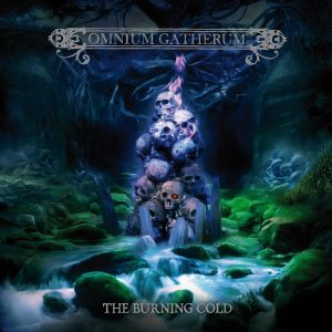 Omnium Gatherum - The Burning Cold - Cover