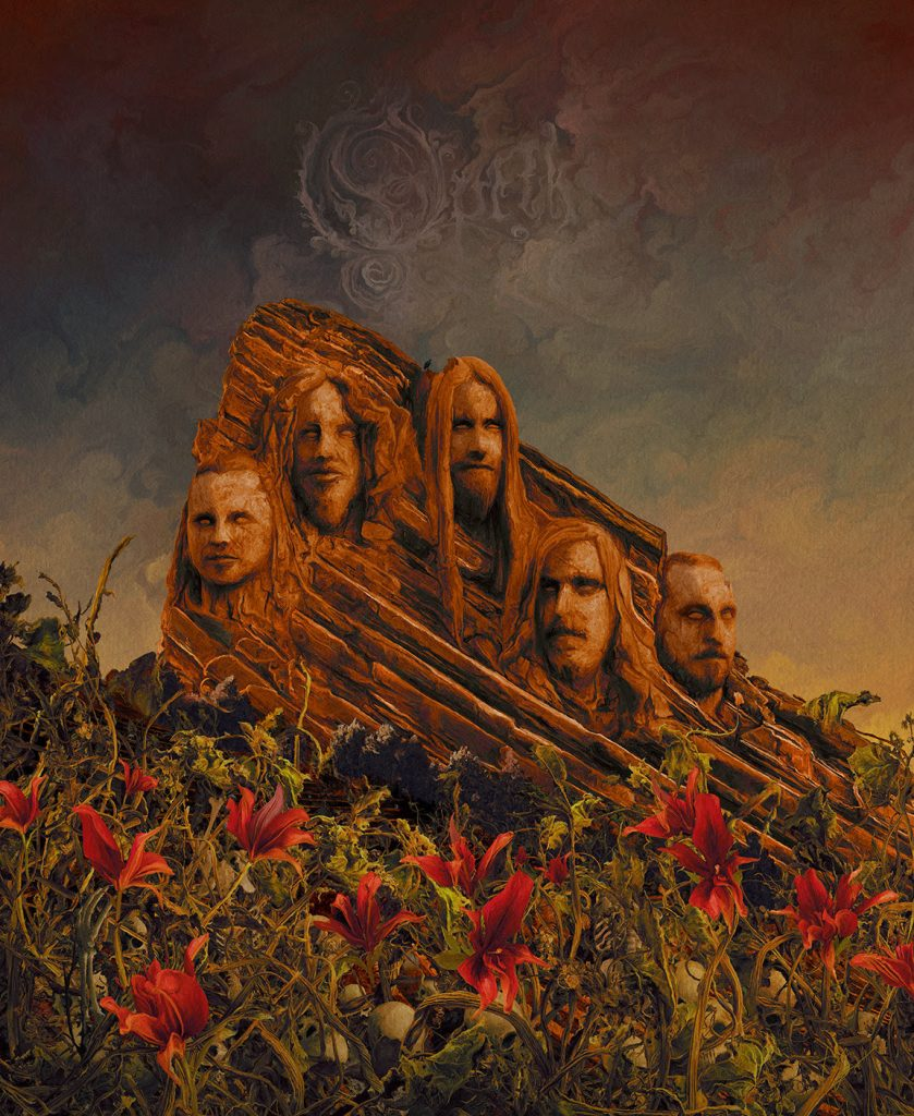 Opeth - Garden of the Titans:Live at Red Rocks Amphitheatre - Cover
