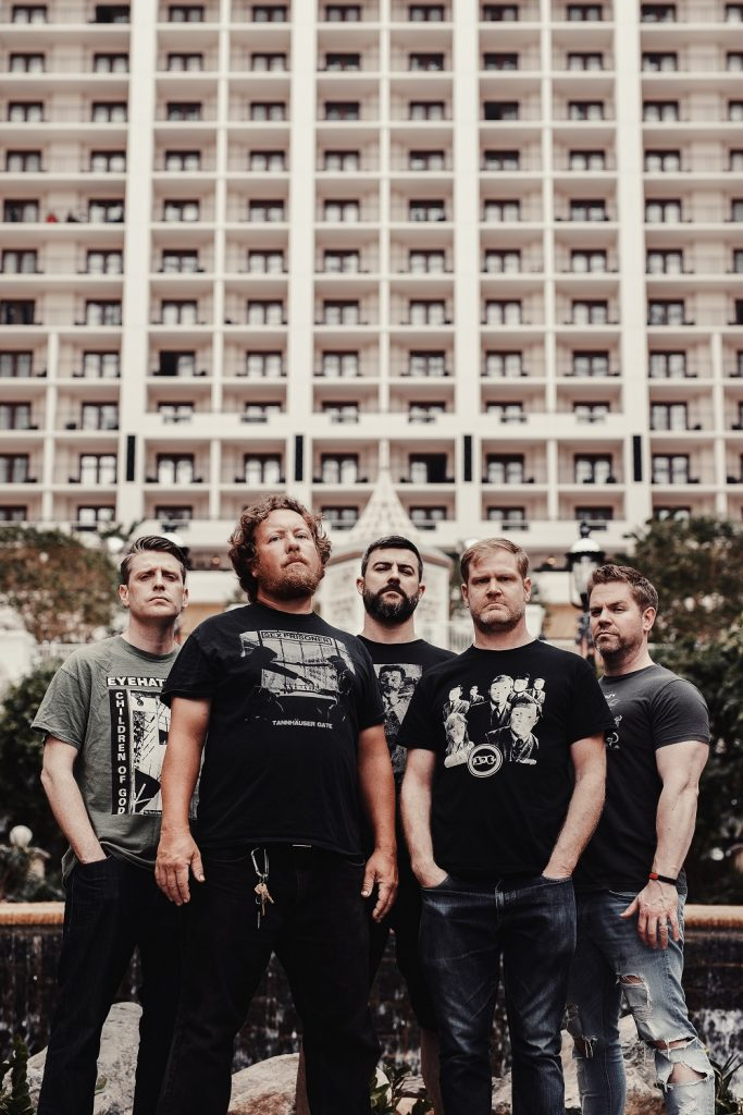 Pig Destroyer - Head Cage - Promo Photo By Joey Wharton