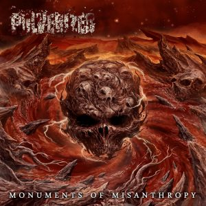 Pulverized - Monuments of Misanthropy - Cover