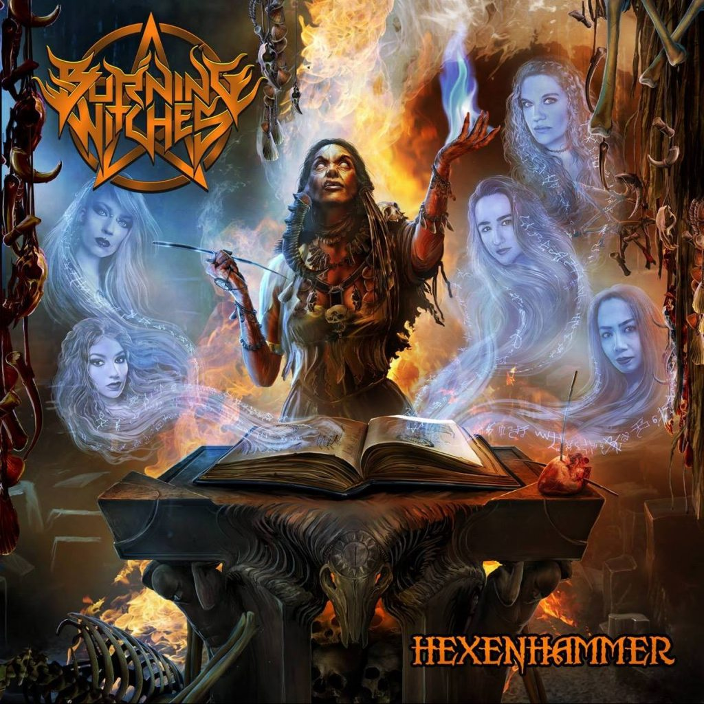 Burning Witches - Hexenhammer - Cover
