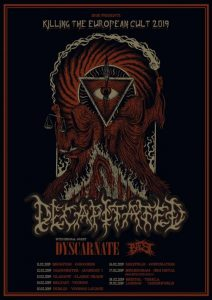 Decapitated and Dyscarnate Tour Poster