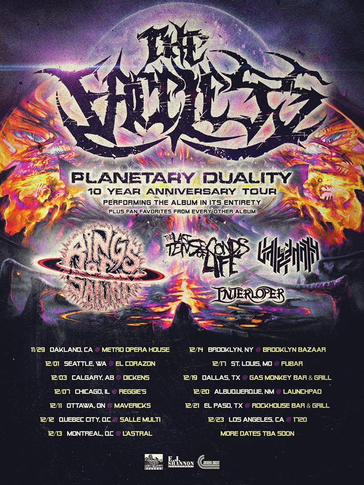 The Faceless, Planetary Duality 10 Year Anniversary Tour