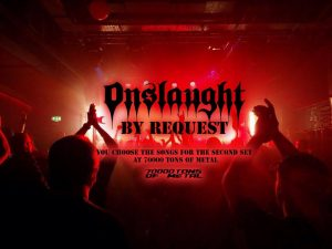 Onslaught - By Request - 70,000 Tons of Metal