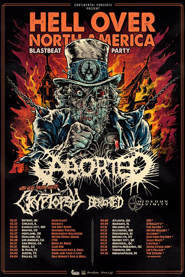 Aborted - TerrorVision - Poster