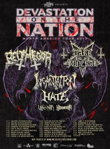 Devastation on the Nation - Poster