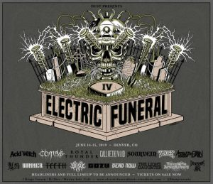 Electric Funeral Fest - Poster