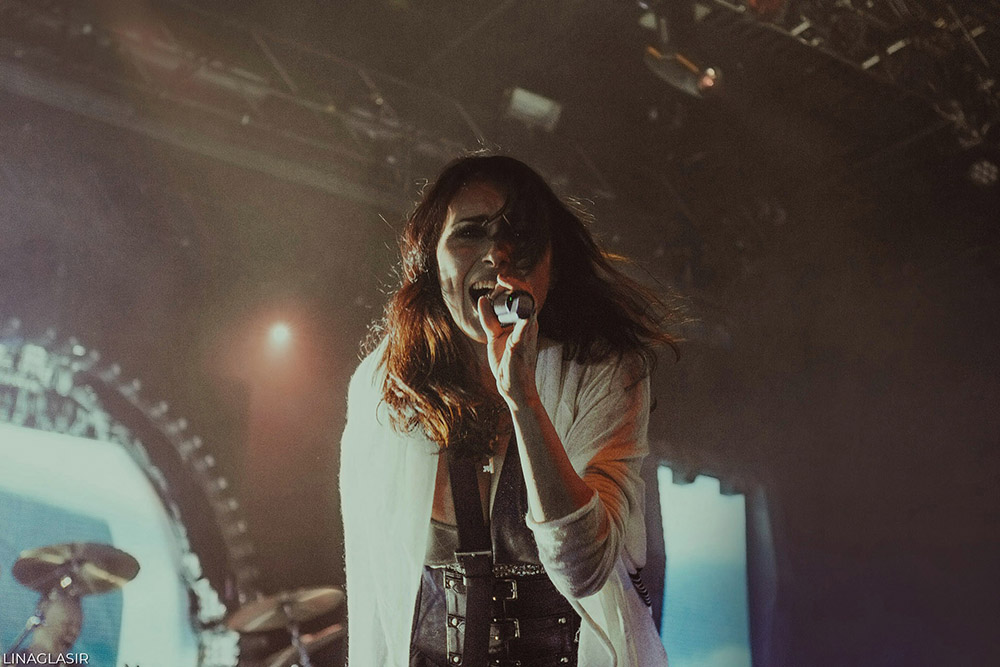Within Temptation - Live Photos - New York City - By Lina Glasir