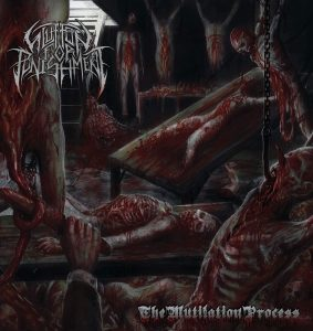 Glutton for Punishment - The Mutilation Process - Cover