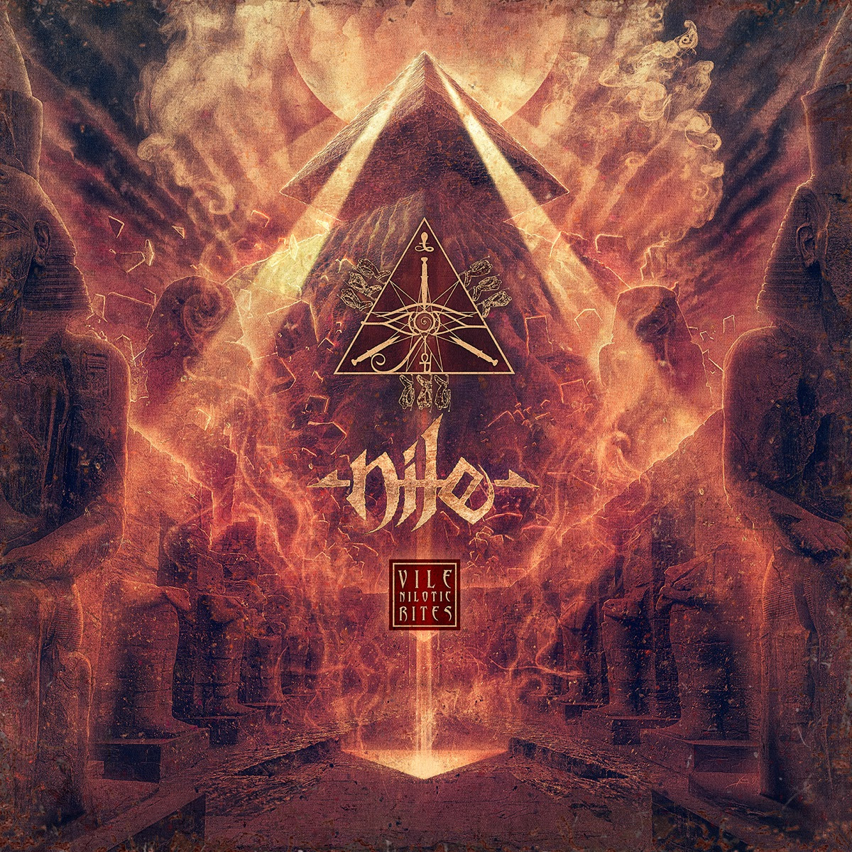Nile - Vile Nilotic Rites - Cover
